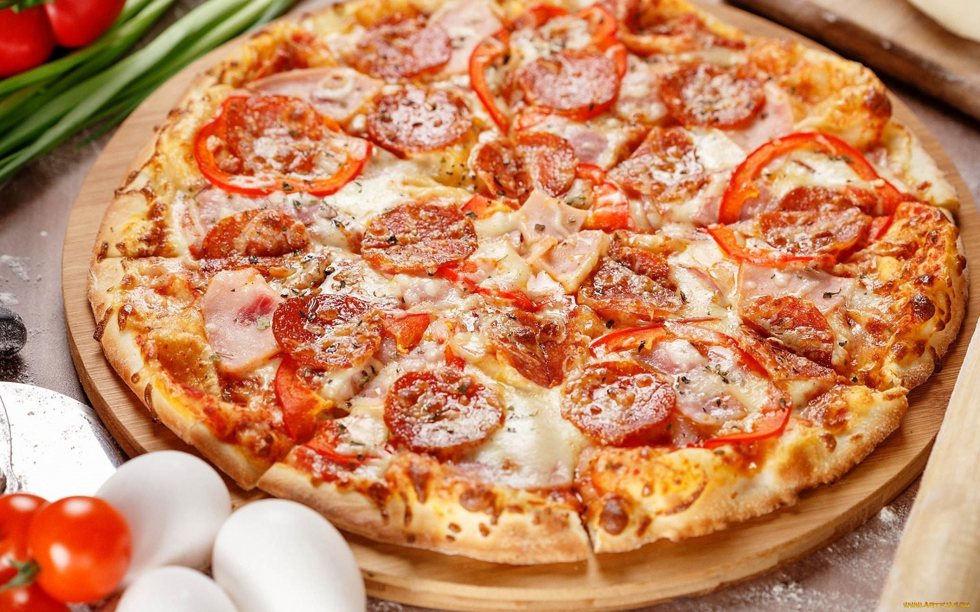 Красивые картинки пиццы